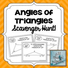 Study, Triangles and Exterior angles on Pinterest