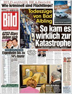 #20160217 #Germany #DeutscheZEITUNGenHEUTE #Bild Mittwoch FEB 17 2016 http://en.kiosko.net/de/2016-02-17/np/bild.html