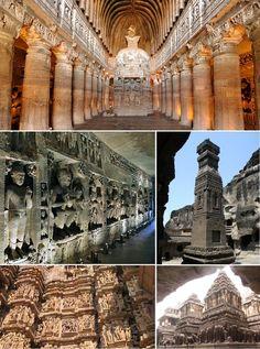 Ajanta and Ellora Caves Tour - India Tours @ India Tourism Packages  http://toursfromdelhi.com/4-days-ajanta-and-ellora-caves-tour