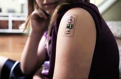 chaotic moon's tattoo circuits integrate unnoticeable wearable technology into daily life