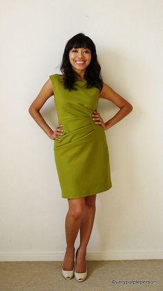 Side pleats dress (Butterick 5672) | Flickr - Photo Sharing!