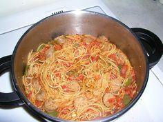 Sausage Tomato Pasta Pressure Cooker Recipe