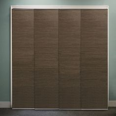 Features:  -Modern upgrade to vertical blinds to add beauty and privacy to large windows, such as patio doors, french doors, or balcony doors.  -Simple and affordable solution to closet doors and room