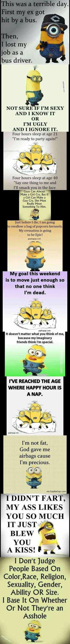 Top 11 Funniest Memes By The - Funny Minions Quotes Funny Minion Memes, Minions Quotes, Funny Texts, Funny Jokes, Funniest Memes, Text Pictures, New Memes, Funny Quotes About Life, Top Funny