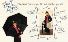 Easy DIY Adult Halloween Costume: Mary Poppins! - It Comes Full Circle