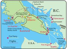 Wild Pacific trail maps, videos, and information from the Wild Pacific Trail Society. Horseshoe Bay, Vancouver Island, Image Search, Canada, Vacation, Ucluelet Bc, Kitchenettes, Ocean Views, Travel Ideas