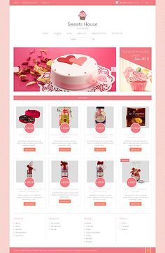 Template 49363 - Sweets Store Responsive Shopify Theme