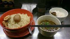 賀丸屋のつけ麺