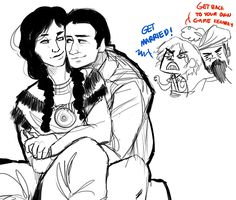 Some Haytham and Ziio featuring Edward Kenway and Blackbeard. Assassin's Creed III and Black Flag.
