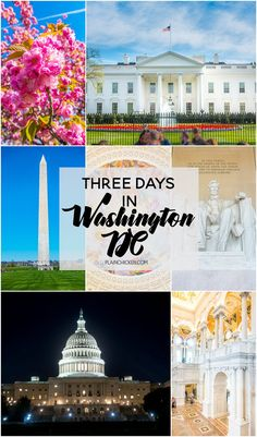 Three Days in Washington DC - what to see and do in the Nation's Capitol.