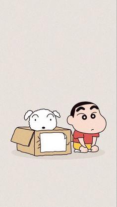 Doraemon Wallpapers, Cute Cartoon Wallpapers, Pretty Wallpapers, Cute Images For Wallpaper, Sinchan Cartoon, Doraemon Cartoon, Sinchan Wallpaper, Kawaii Wallpaper, Crayon Shin Chan