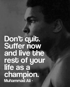 When I was growing up Muhammad Ali was about more than boxing. The truth is that at 8 years old I didn't understand boxing, but I did understand confidence. I could recognize a champion.