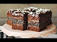 Ciasto EUFORIA czekoladowe z makiem i krówką – PRZEPIS – Mała Cukierenka - YouTube Pain, Bakery, Make It Yourself, Cooking, Breakfast, Desserts, Youtube, Food, Trends