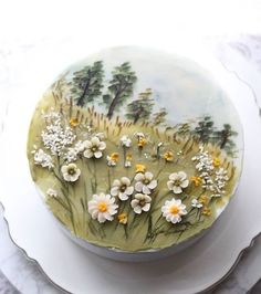 21 Elegant Image of Cakes For Birthday : Page 19 of 29 : Creative Vision Design Fancy Cakes, Mini Cakes, Cupcake Cakes, Frog Cakes, 3d Cakes, Buttercream Flowers, Buttercream Cake, Fondant Flowers, Frosting