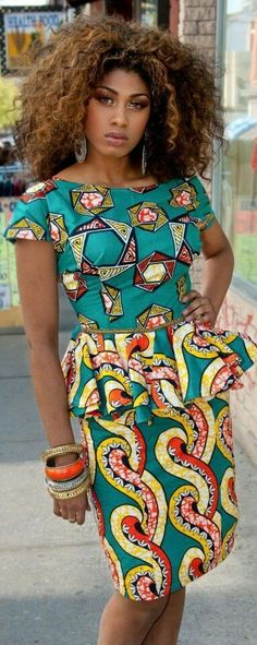 See beautiful African print summer dresses by BISI Designs 2019 look book. Meet the African print statement dresses and skirts for summer African Inspired Fashion, African Print Fashion, Africa Fashion, Tribal Fashion, African Attire, African Wear, African Women, African Style, African Outfits