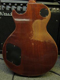 "Gibson Les Paul Custom Shop ""Collector Choice #1 - Greeny ""  Dirty Lemon Drop Aged"