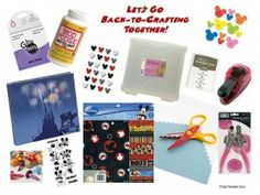 Practically Perfect DISNEY Crafting: Back-to-Crafting Supply List - WDW Radio - Your Walt Disney World Information Station by Lou Mongello
