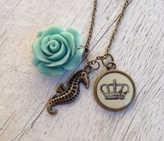 Charm necklace  on Etsy, $25.00