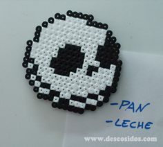 Imán Hama Beads - Jack Skeleton