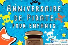 Organiser un anniversaire de pirate avec ces 7 idées indispensables pour le réussir ! Comment organiser une fête de pirates facilement pour vos enfants