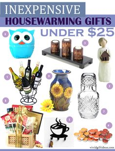 Inexpensive Housewarming Gift Ideas Or You Can Always Give A Garden Hose Which Comes