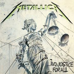 Metallica - ...And Justice For All:  The last of the essential four.  Despite the bass being practically missing from this one, I really love this album as well.