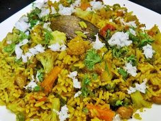 मसाले भात   Masale Bhat   Masala Rice by madhurasRecipe - YouTube Sheera Recipe, Desi Ghee, Spicy Rice, Carrot Greens, Green Chilli, Coriander Seeds, Rice Dishes, One Pot Meals, Confirmation