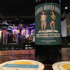 It's a bit nippy out tonight in #orlando A perfect evening for this Florida Winter#winterwarmer from @oceansunbrewing Have to take advantage of these nights  with some imperial #craftbeer Enjoyed some Blue Bags IPA as well. Cheers to the weekendI hope you're enjoying some good #beer tonight.