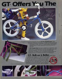 Another mid 80's GT add