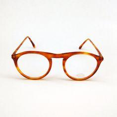 NAJ OLEARI occhiali da vista con ponte a buco di BertolaVintage