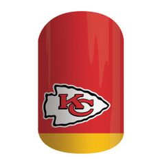 Get gameday style with Jamberry's NFL Collection. Our officially licensed NFL products feature your favorite team logo and colors so you can cheer your team to victory with 'Kansas City Chiefs' on your nails.  #JamsByColey #Jamberry #NFLCollectionByJamberry