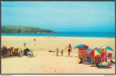 Harlyn Bay, Padstow, Cornwall, c.1980s - Colourmaster Postcard
