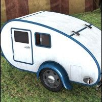 Teardrop Camper in Places and Things, Vehicles, Land,  3D Models by Daz 3D
