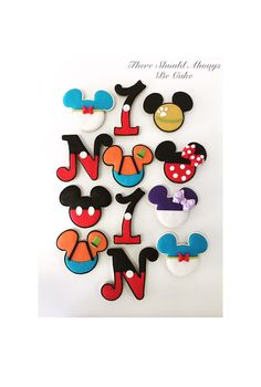 Mickey's Club House Cookies