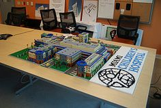 Miami Children's Hospital Miami, Lego Projects, Childrens Hospital, Lego Creations, Children's Clinic