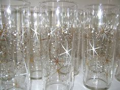 Swanky! Atomic Starburst Glasses by CherryRiversVintage on Etsy, $60.00