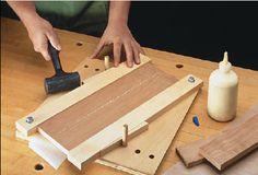 Simple wedge design clamp
