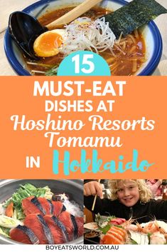 Tasty and delicious kid-approved foods to eat in Hokkaido, Japan! Hoshino Resorts Tomamu best foods, foods to try in Japan, Japan food guide, things to do in Hokkaido, Hokkaido travel guide. Travel with kids, Japan travel with kids, where to go in Japan with kids. #food #Japan #hokkaido