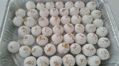 Amy's Crazy Cakes - Gold Sugar Sprinkle Cake Balls