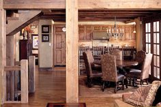 Locati Architects: Great Room: Yellowstone Club private residence