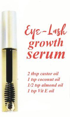 Oil For Eyelash Growth, Natural Eyelash Growth, Best Eyelash Growth Serum, Diy Eyelash Serum, Eyelash Growth Products, Diy Eyebrow Growth Serum, Beautiful Eyelashes, Natural Eyelashes, Natural Hair