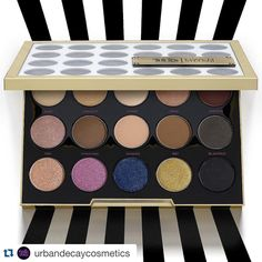 """. #repost @urbandecaycosmetics ・@gwenstefani's can't-live-without shades in one eyeshadow palette. #udxgwen #gwenstefani #urbandecay"""""""