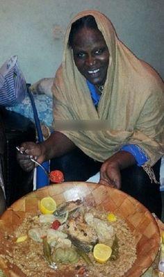 NGONE NDIAYE GUEWEL SANS MAQUILLAGE