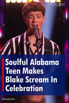 """Fourteen-year-old Levi Watkins sounds so smooth that you'd never guess his age. The teen was off to a fantastic start thanks to a surprisingly good audition featuring Train's """"Hey, Soul Sister."""" No one was expecting someone of such a small stature to be singing that soulfully. #Train #TheVoice #BlindAuditions #TalentShow #Singing #TVShows"""