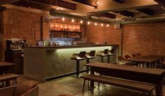 Have you take a look at this spot? Restaurant and bar labeled Dabbous inside center of London? The interior design of this restaurant and bar is amazing, shaped