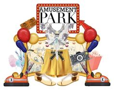 Designer Clothes, Shoes & Bags for Women Amusement Park, Missguided, Karl Lagerfeld, Cotton Candy, Juicy Couture, Giuseppe Zanotti, Minnie Mouse, Dating, Polyvore
