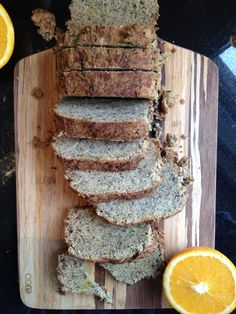 Gluten free, dairy free, egg free, nut free, grain free paleo orange cardamom banana bread