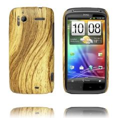 Wood Look (Brun) HTC Sensation Deksel