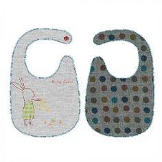 Maileg Bunny Honey Green Bib $23.95 #sweetcreations #baby #kids #toddlers #babyfood