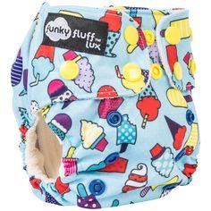 Funky Fluff Bamboo Newborn Diaper (Preorder Jan 16) – The Mushy Mommy